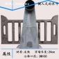 【小口24cm*DN100】侧入式雨水斗 铸铁弯头 穿墙地漏 侧墙雨水口