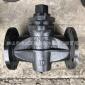 法兰二通旋塞阀X43W 铸铁二通旋塞阀启闭阀 法兰式旋塞阀