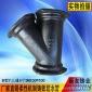 厂家直销柔性铸铁排水管B型Y三通铸铁三通铸铁弯头铸铁管PVC接头
